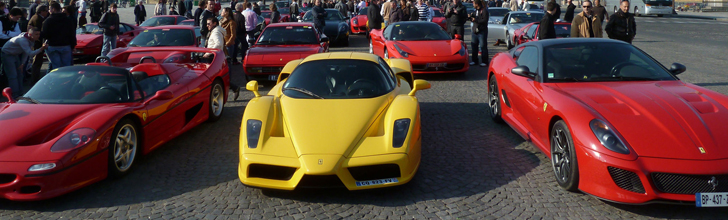 Event: Rosso Corsa Day in Parijs