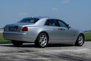 Rolls-Royce Ghost will be facelifted soon