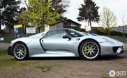 Four copies of the Porsche 918 Spyder make this a topspot
