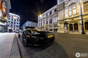 Lexus LFA travels through Europe