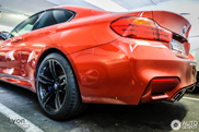 BMW M4 shows up in its own Walhalla