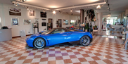 Visit the Pagani factory from home