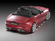 Jaguar F-TYPE gets a makeover by Piecha Design