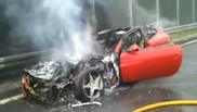 Also the Ferrari FF is burning very well!