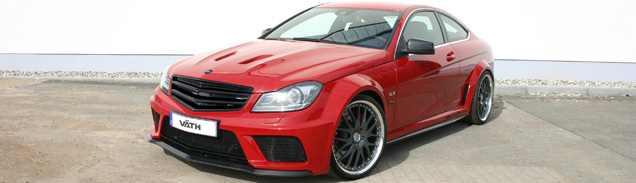 Väth thinks the C63 Black Series is too slow: V63 Supercharged