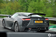 Spot van de dag: Lexus LFA 