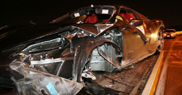 Ferrari 458 Spider crashed in So Paulo