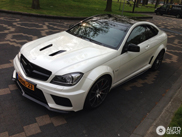 Spot van de dag: Mercedes-Benz C 63 AMG Coup Black Series