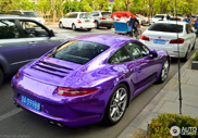 Porsche 991 Carrera S is shining in Beijing!