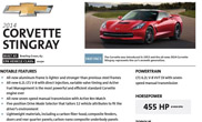New Corvette Stingray produces 461 hp
