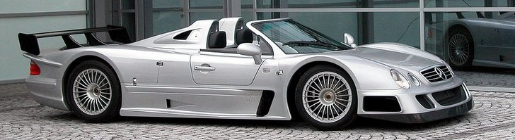 Exclusive Mercedes-Benz CLK GTR Roadster for sale