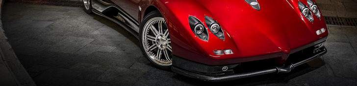 Une Pagani Zonda C12-S Roadster photographiée à la perfection
