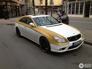 Colour accentuates the nice lines of this Mercedes-Benz CLS 55 AMG