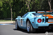 Is deze Ford GT Heritage Edition net iets over the top?