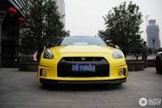 Nissan GT-R also looks great in yellow