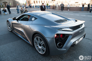 Zenvo ST1 shines in Saint-Petersburg