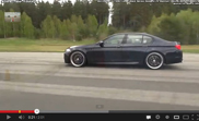 Filmpje: Manhart MHS5 vs. Mercedes-Benz C 63 AMG Coupé Black Series