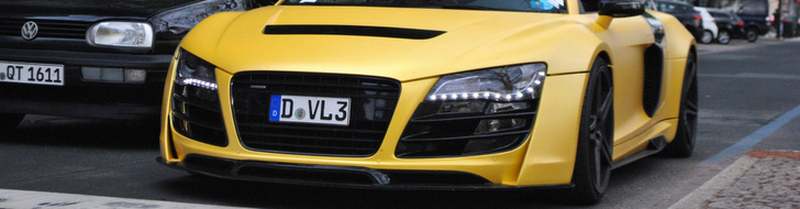 Is the perfect Audi R8 matte yellow?