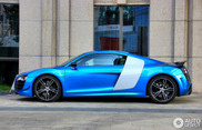 Audi R8 V10 China Edition is prachtig blauw