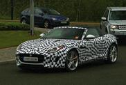 Jaguar F-Type Coupe captured for the first time