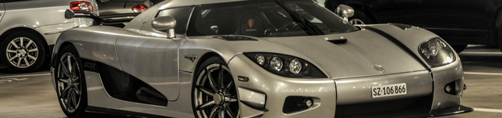 'Mysterious' Koenigsegg in Zürich seems to be used
