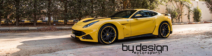 Novitec Rosso N-Largo in Geld von BY DESIGN