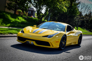 Spotted: Ferrari 458 Speciale in different versions