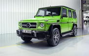 Mercedes-Benz gives the G-Class a makeover