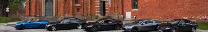 Event: eerste Maserati Club Meeting in Polen