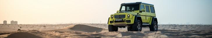 Special: op pad met de Mercedes-Benz Brabus G 500 4x4²