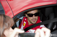 Ferrari 458 Spider with Fernando Alonso spotted