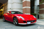 Celebration model spotted: Ferrari 599 GTB 60F1