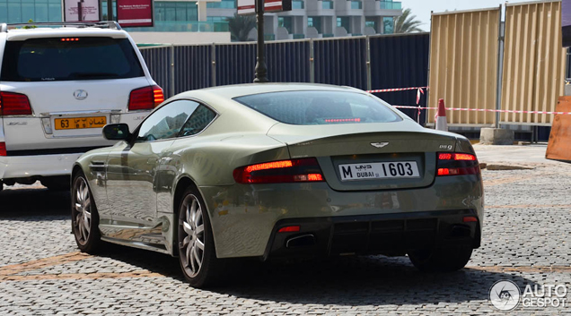 Brutal and beautiful: Aston Martin Mansory DB9