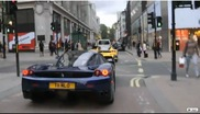 Two Enzo's driving around in central London!