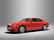 Bespoke department Rolls-Royce makes Ghost in Rustic Red