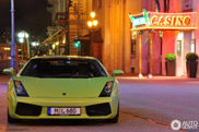 Sparkling color spotted on a Lamborghini Gallardo!