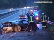 600 bhp can be too much: McLaren MP4-12C is crashed in Germany