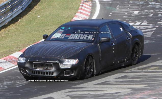 Quattroporte gets a V8 and V6 1998 Maserati Quattroporte V8 Evoluzione ...