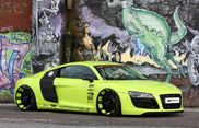 Groen en opvallend: Audi R8 V10 door XXX-Performance