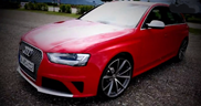 Movie: Audi RS4 Avant sprints to 155 mph