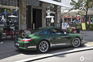 Beautiful in green: Porsche 997 GT3 RS 4.0