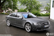 Sober in grey: The 2012 Audi S8