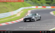 Mercedes-Benz SLS AMG Black Series test op de Nordschleife