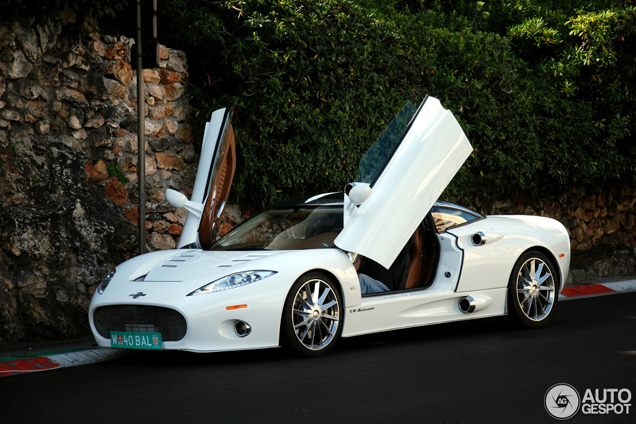 Most beautiful Spyker ever spotted in Monaco