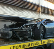 Game over for this Lamborghini Murciélago LP640