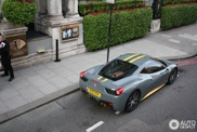 One of the world's best Ferraris 458 Italia captured in London