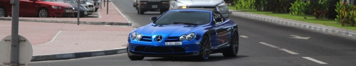 Mercedes-Benz SLR McLaren Roadster 722 S is rijdende spiegel