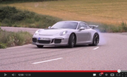 Chris Harris gaat plankgas in de Porsche 991 GT3