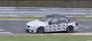 BMW M3 testing on the Nürburgring