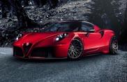 Pogea Racing dà un look più aggressivo alla Alfa Romeo 4C